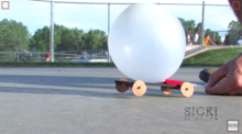 Balloon Powered Car - Sick Science!
